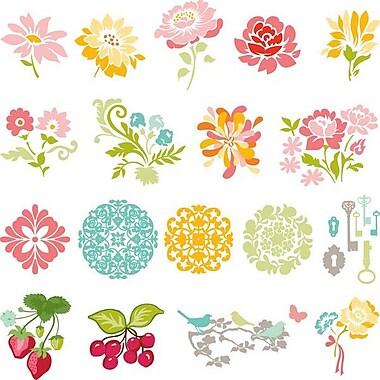 Slice Fabrique Design Card, Secret Garden By Sandi Henderson