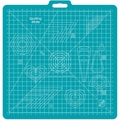 Gridded Rotary Mat With Handle, 26in.X27in. w/23in.X23in. Grid