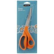 """Fiskars 12-9441 Sharp Tip 9"""" Dressmaker Shears, Orange"""