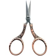 Embroidery Scissors, 4, Copper Round Handle