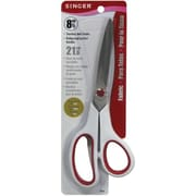 "Singer 00445 Sharp Tip 8.5"" Fabric Scissors, Red/White"