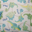 Babyville PUL Waterproof Diaper Fabric, Dinos , 64in. Wide