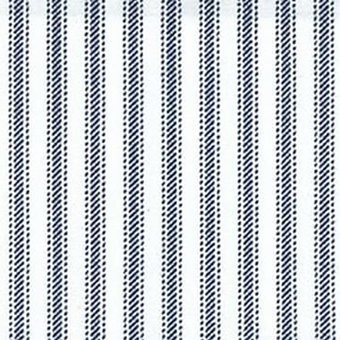 Cotton Fabric, Navy Stripe, 45