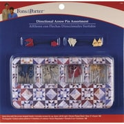 Dritz Fons & Porter Directional Arrow Pin Assortment 2, 180/Pack