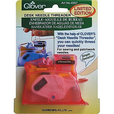 Desk Needle Threader, Pink