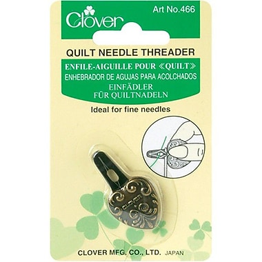 Quilt Needle Threader, Antique Gold