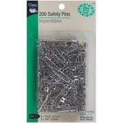 Dritz Safety Pins, Assorted Sizes, 200/Pack