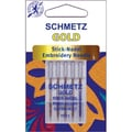 Euro-Notions Gold Embroidery Machine Needles