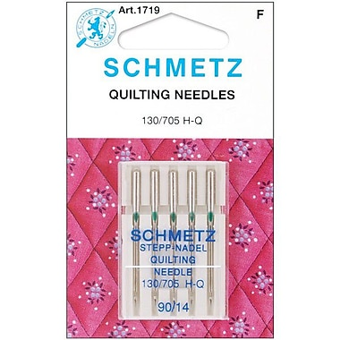 Euro-Notions Quilt Machine Needles, Size 90/14, 5/Pack