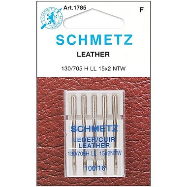 Euro-Notions Leather Machine Needles, Size 100/16, 5/Pack