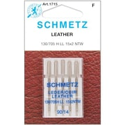 Euro-Notions Leather Machine Needles, Size 90/14, 5/Pack