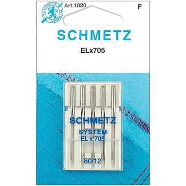 Euro-Notions ELX705 Serger Needles