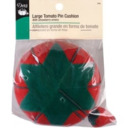 Dritz Large Tomato Pin Cushion with Emery Strawberry