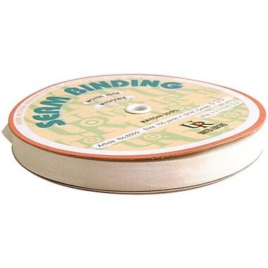 Rayon Seam Binding, Natural, 1/2