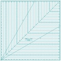 Quilt In A Day Square Up Ruler, 22in.X22in.