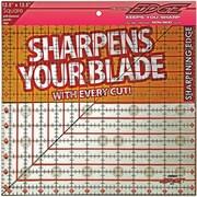 "The Cutting EDGE Clear Ruler, 12-1/2""X12-1/2"""