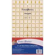 "Fons & Porter Rotary Cutting Ruler, 8""X14"""