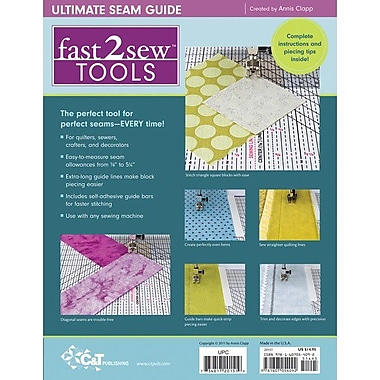 fast2sew Tools Ultimate Seam Guide