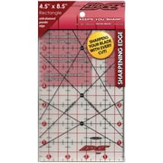 "The Cutting EDGE Frosted Ruler, 4-1/2""X8-1/2"""