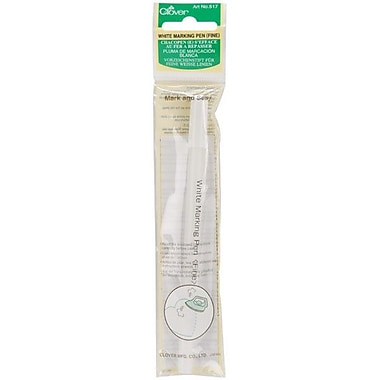 Water Soluble Marking Pen Fine Point, White
