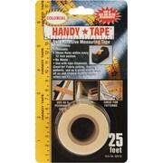 Handy Tape Self-Adhesive Measuring Tape, 25 Feet