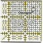 Omnigrid Quilter's Square, 2-1/2X2-1/2