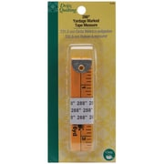 Dritz Quilting Yardage Marked Tape Measure, 288, Yellow