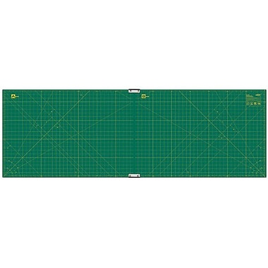 Olfa Gridded Cutting Mat Set, 23in.X70in., Clipped