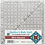 Quilter's Mini Square Ruler, 6-1/2X6-1/2