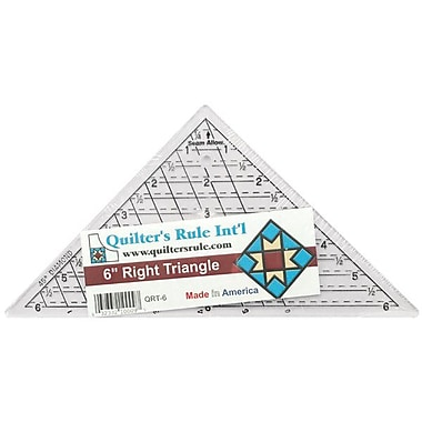 Mini-Triangle Quilter's Ruler, 6-3/4