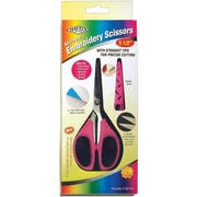 "Havel's 60140 Sharp Tip 5.5"" Embroidery Scissors, Pink"