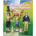 Poof Slinky® Ideal Decorator Family Figurines, 7/Set