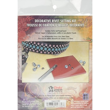 Leather Factory® Decorative Rivet Setting Kit