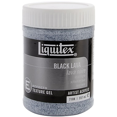 Reeves™ 8 oz. Liquitex Black Lava Acrylic Texture Gel