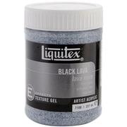 Reeves Liquitex Non-toxic 8 oz. Lava Acrylic Texture Gel (7108)