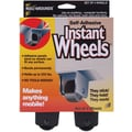 Master Manufacturing Roll-Arounds® Self Adhesive Instant Wheels, 4/Pack