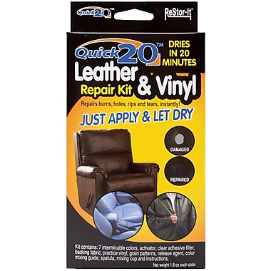 Master Manufacturing 18081 Assorted Quick 20 Leather and Vinyl Repair Kit