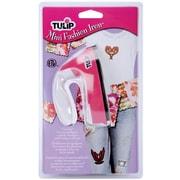 I Love To Create 23428 Pink Tulip Mini Fashion Iron