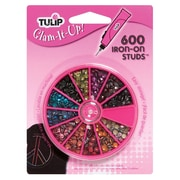 I Love To Create 26720 AssortedTulip Glam-It-Up™ Iron-On Studs, 600/Pack