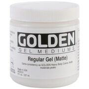 Golden 8 oz. Medium Regular Gel, Matte (30305)
