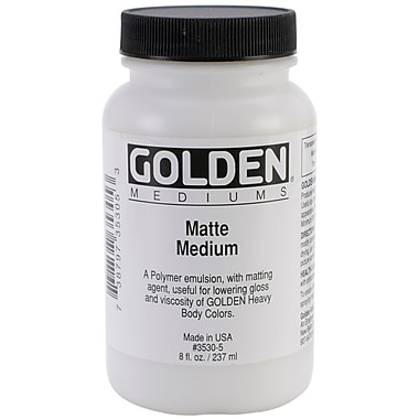Golden 8 oz. Medium, Matte