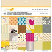 American Crafts™ Amy Tangerine Original Paper Pad, 12 x 12, 48/Pack