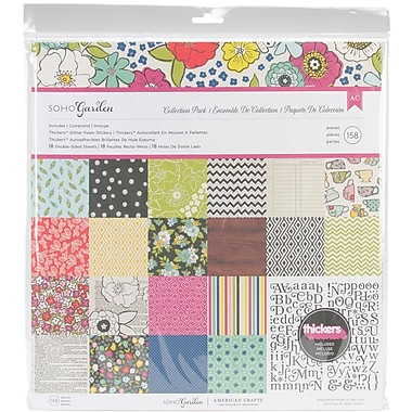 American Crafts™ Soho Garden Collection Pack, 12in. x 12in.