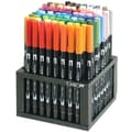 Tombow® 96 Piece Dual Brush Marker Desk Set With Stand