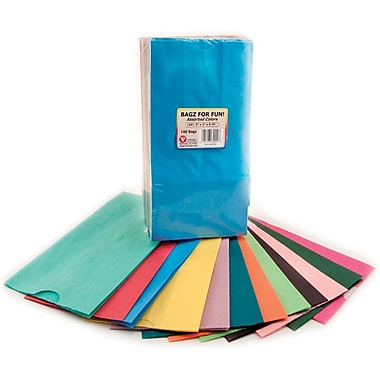Hygloss 9 3/4in. x 3in. x 5in. Gusseted Flat Bottom Bags