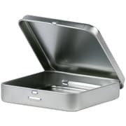 Clearsnap® Basic Necessities Square Storage Tins, Silver