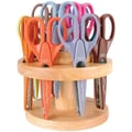 Armada 12 Paper Shapers™ in Wood Stand Scissor Set