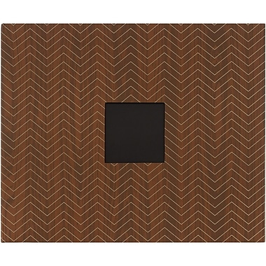 American Crafts™ Amy Tangerine D Ring Album With Window, 12in. x 12in., Chevron