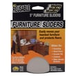 Master Manufacturing 5in. Round Mighty Movers® Reusable Furniture Sliders