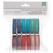 "American Crafts™ 12/Pack 375"" x 4' Glitter Tapes"